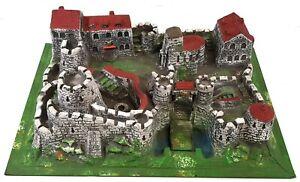 Elastolin-Hausser-Knight-039-s-Castle-Ritterburg-Vintage-1960s-683