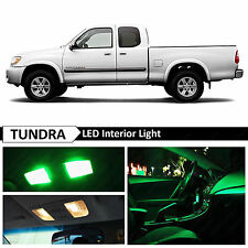 15x Green Interior LED Lights Package Kit for 2000-2006 Toyota Tundra
