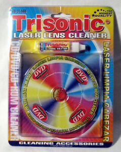 New Laser Lens Cleaner Game Console Cd-Rom Dvd Player Cleaning Liquid Included