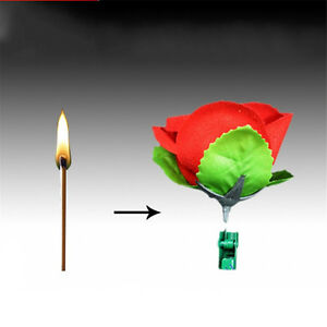 Rose-Flower-Magic-Tricks-Magician-Prop-Satge-Close-Up-Magic-Accessories-UR