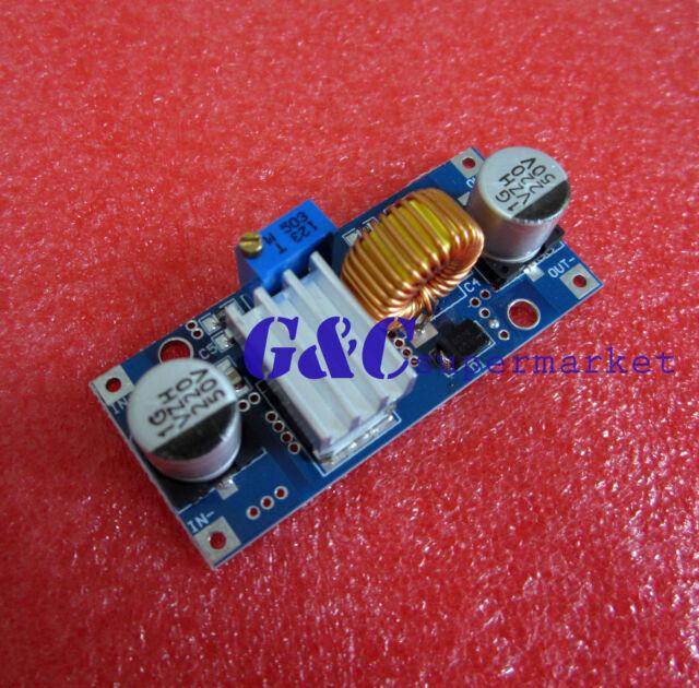2PCS 5A DC-DC adjustable step-down module XL4015 4~38V 96% NEW GOOD QUALITY M22