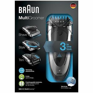 Braun-MG5090-para-hombre-Multi-Groomer-Wet-amp-Dry-Afeitadora-Recargable-Styler-Barba-Trimmer