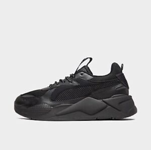 Details about Puma RSX RS X Core Casual Cushioned All Triple Black White  36966602 002 Size