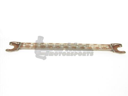 Circuit Hero 2-Point Rear Strut Tower Bar Raw Mild Steel Integra DC Civic EG EK