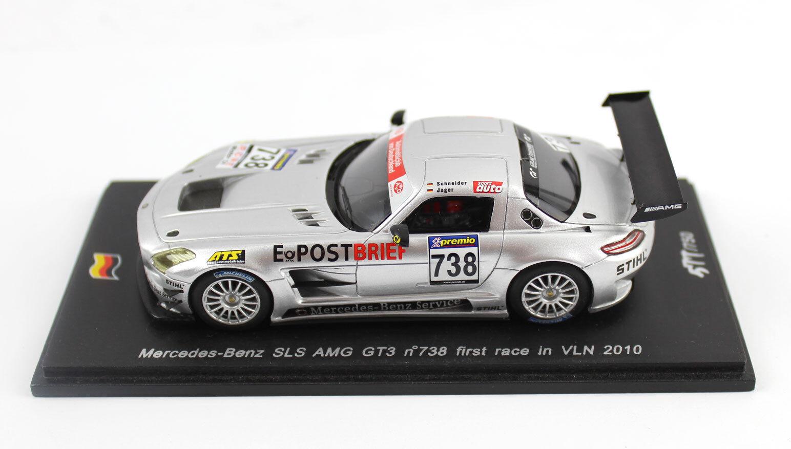 Spark Coche Modelo 1 43 Mercedes-Benz SLS AMG Gt3 2010 738