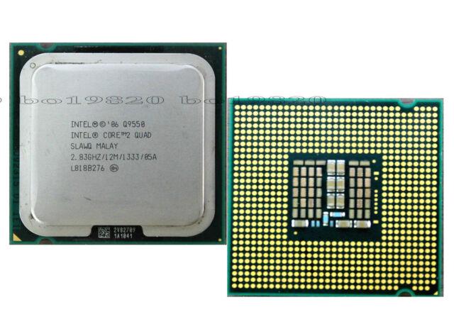 Intel Core 2 Quad Q9550 283 GHz 12M 1333 MHz LGA 775 CPU Processor