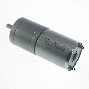 12vdc 24 rpm heavy duty gearhead dc motor compact high for Heavy duty dc motor