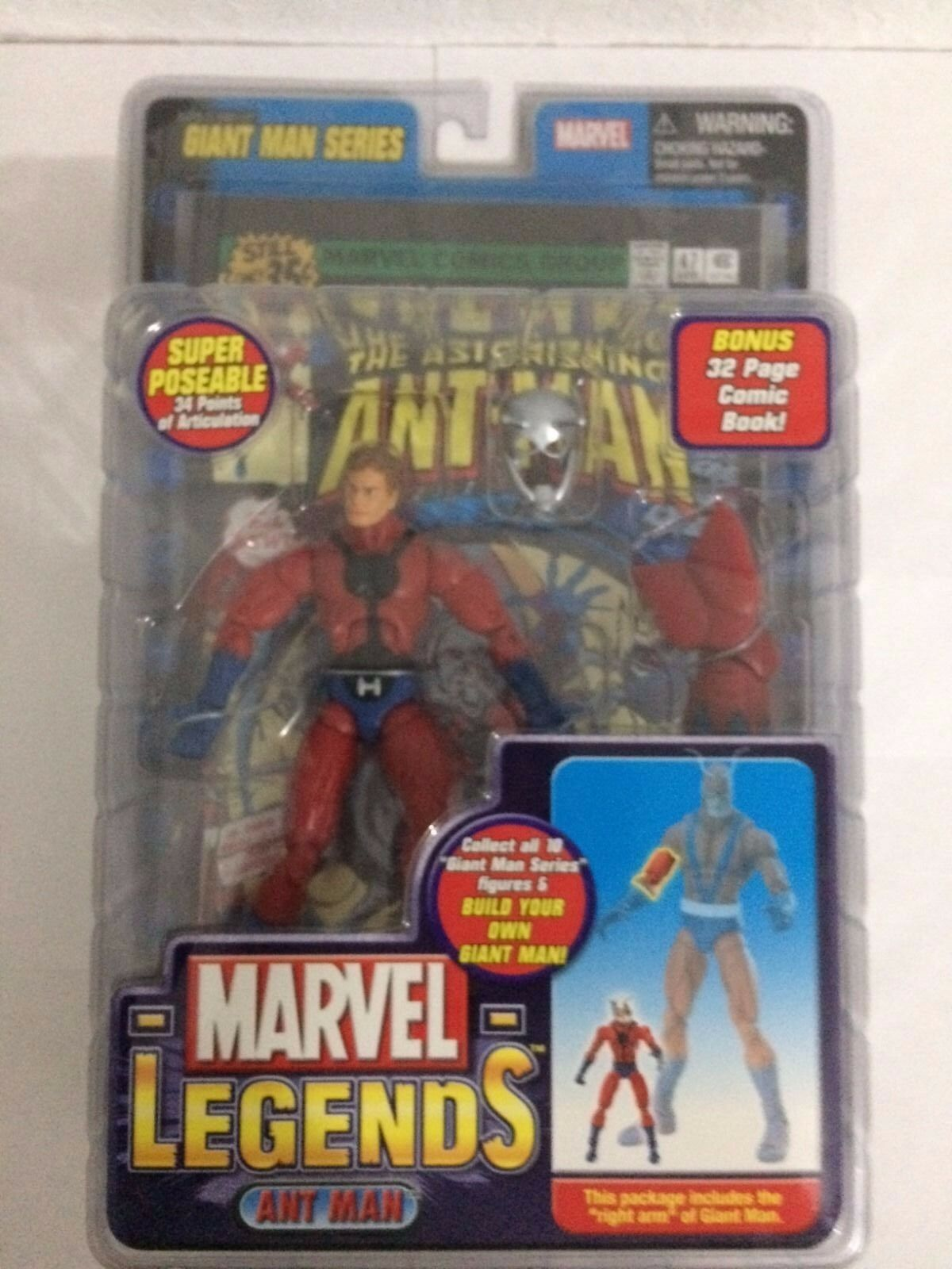 Ant uomo Marvel Legends Giant uomo Build a Series Avengers giocattolobiz nuovo