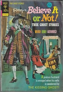 Details about RIPLEY'S BELIEVE IT OR NOT TRUE GHOST STORIES #41 (VG/FN)  BRONZE AGE HORROR