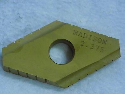 "Madison 1.531/"" T15 Cvd Coated Duodex Insert 1150-321-01531"