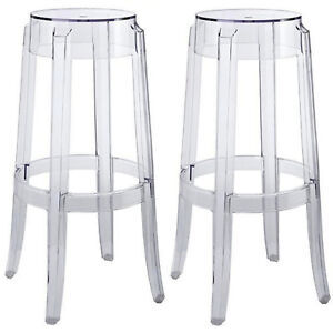 2-Round-Polycarb-Charles-Ghost-Bar-Stools-Clear-Transparent-29-5-034-Bar-Height