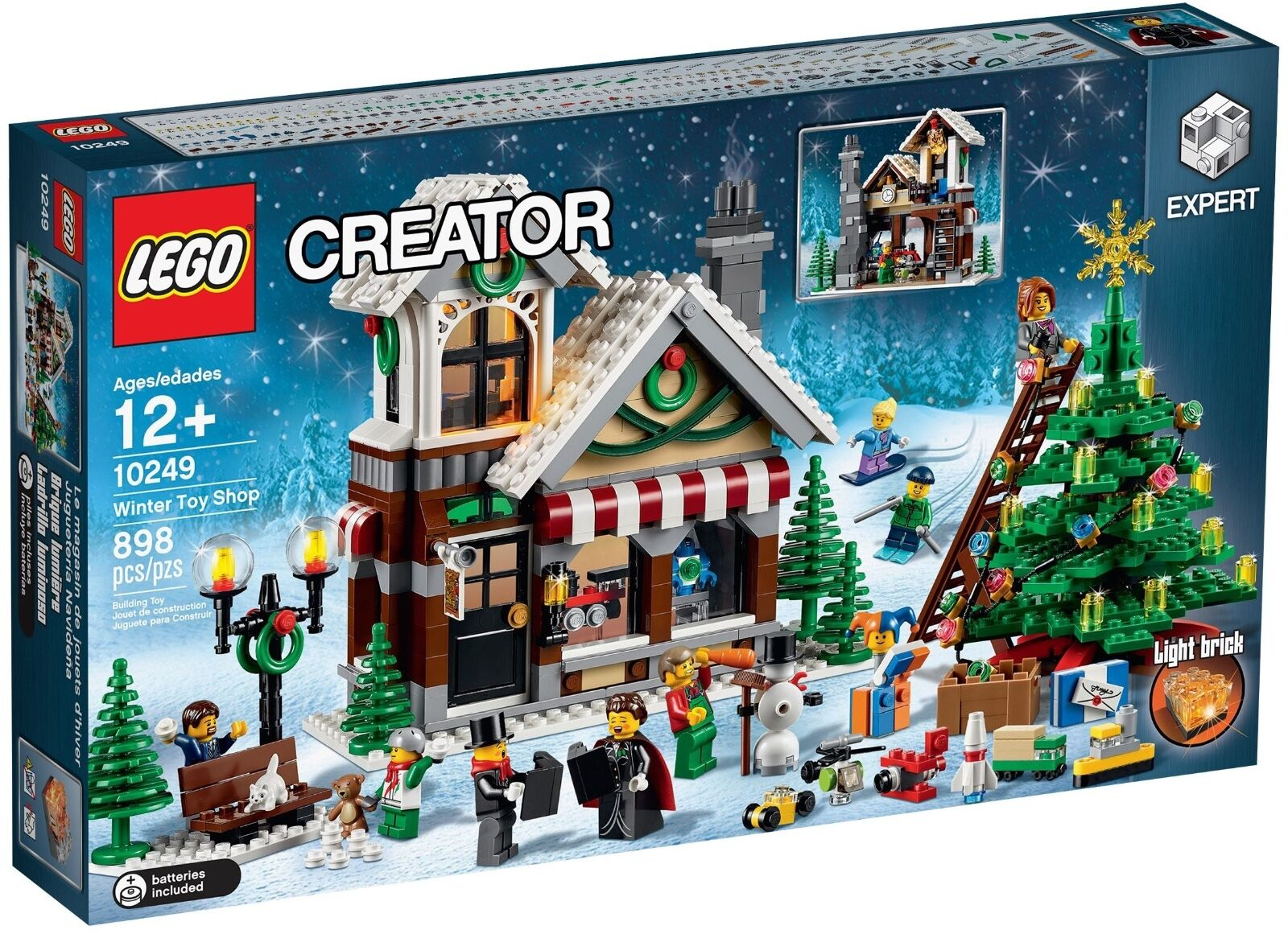 LEGO WINTER TOY SHOP 10249 HOLIDAY  BRAND NEW, MISB, SEALED , FAST SHIPPING