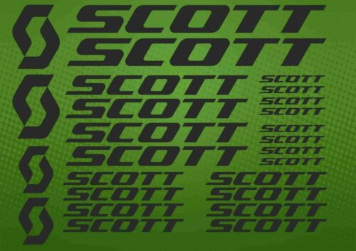 SCOTT decals for bike frame Vinyl Sticker Cycle Bicycle mtb road Cycling powder
