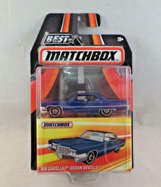Matchbox Best Of '69 Cadillac Sedan Deville Diecast NIP 1