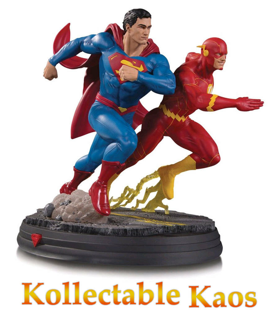 Superman - Superman vs. The Flash DC Gallery 25cm Statue