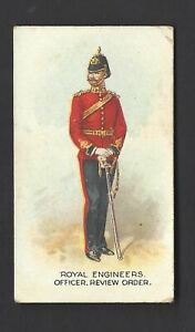 WILLS-AUS-TYPES-OF-BRITISH-ARMY-CAPSTAN-16-ROYAL-ENGINEERS-OFFICER