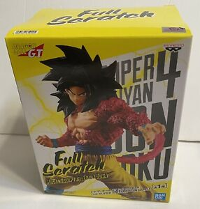 Dragon Ball GT Super Saiyan 4 Goku Figure Full Scratch Official Figure Banpresto