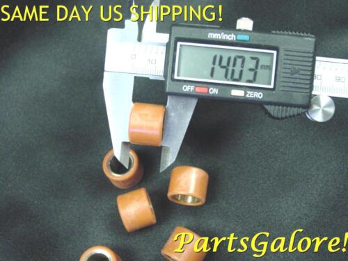 Copper core Racing Rollers Roller Weights 14x18 18x14 GY6 Kymco 125cc /& 150cc