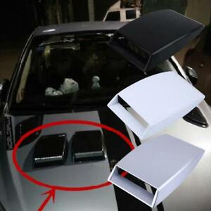 Universal-Car-Decorative-Air-Flow-Intake-Scoop-Bonnet-Simulation-Vent-Cover-Hood