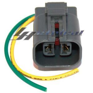 mitsubishi electric alternator wiring diagram alternator repair plug harness 2-wire pin pigtail for ...