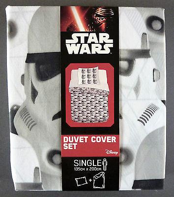Disney Star Wars Wende-bettwÄsche Stormtrooper Bettbezug 135x200 80x80 Primark
