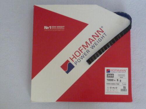 nero rivestito in plastica /> 986970 /< Hofmann tipo 355 pesi ADESIVA-ruolo 5kg
