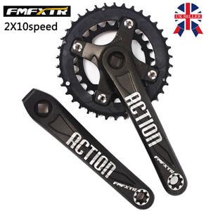 104BCD-26-38t-2X10s-Double-Speed-64BCD-Crankset-MTB-Bike-Crank-Chainring