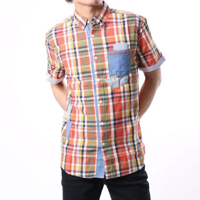 New Spanish Desigual men/'s graffiti shirt with multi colors