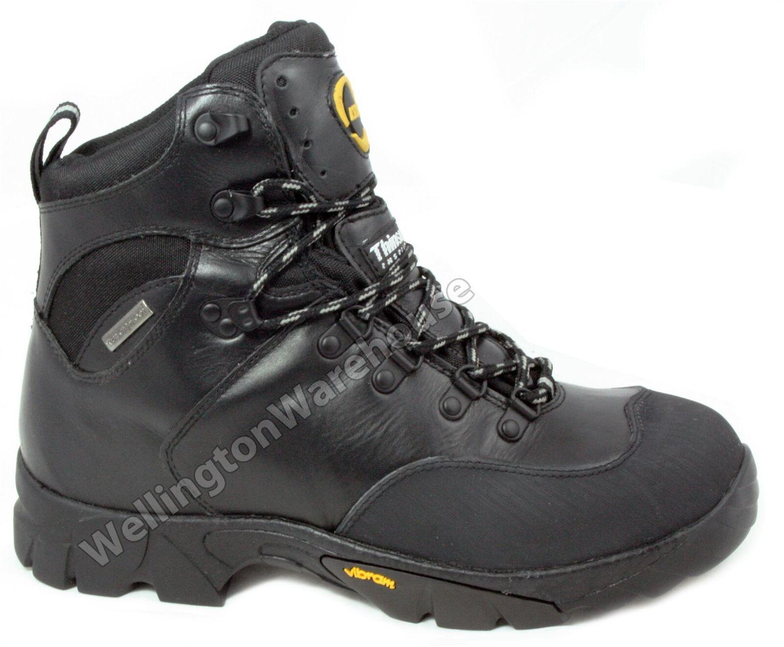 Ascot Ridge black Schnürschuhe Wandern, Wandern, Trail Stiefel