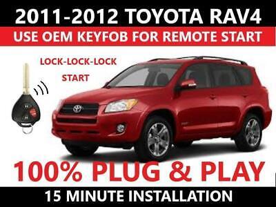 Complete Evo-One 1 Button Remote Start G-Key T-Harness 2010-2012 Toyota Rav4