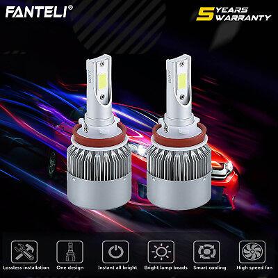 Cree LED Headlight Kit H8 H9 H11 980W 147000LM 6000K Low Beam Fog Bulb HID White