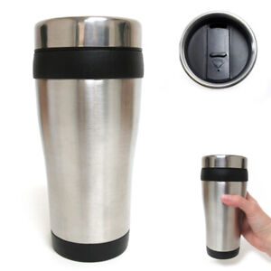 16oz-Cup-Insulated-Coffee-Travel-Mug-Stainless-Steel-Double-Wall-Thermos-Tumbler
