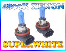 55W H11 / H8 4800K Super White Xenon Fog Light Bulbs Ford Mondeo Mk3 S-Max