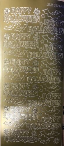 264300 gl//gl Outline Sticker Happy Halloween