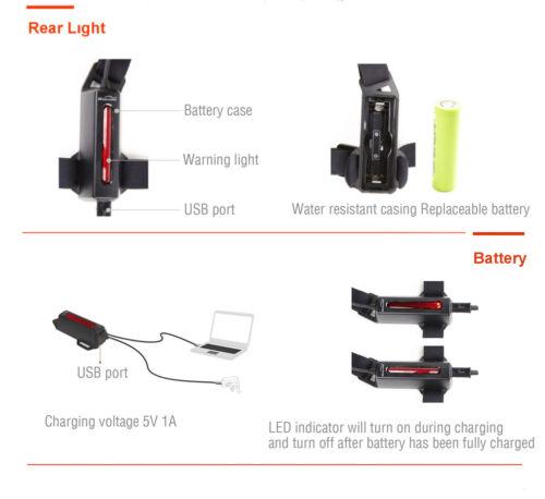 Magicshine MJ-892 200 Lumen Running Light Jogging Walking USB Rechargeable