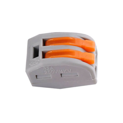 Lots Reusable Spring Lever Terminal Block Electric Cable 2/3/5Wire Connector