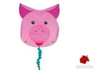 First Flyer Animal, Easy Kite Pig, Children Outdoor Wind Game Doxgatbn-07183645-323540770