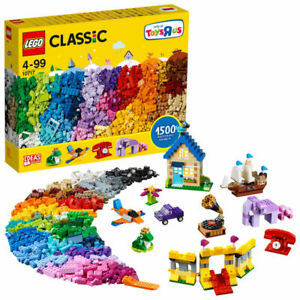 Lego-10717-Classic-1500-tijolos-Starter-Set-Com-Ideias-Novo-E-Lacrado-De-Fabrica
