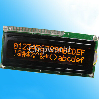 LCD1602A Zeichen Dot-Matrix-LCD-Display-Modul 16x2 Black Background 4 Farben