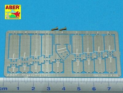 Aber Us 01 - Photoetched Fotoincisioni Wire Cutting Tool