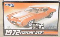 Mpc 1972 Pontiac Gto 1/25 Scale Plastic Model Kit Muscle Car