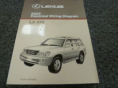 [DVZP_7254]   2004 Lexus LX 470 SUV Electrical Wiring Diagram Manual 4.7L V8 4WD | eBay | Lexus Lx 470 Wiring Diagram |  | eBay