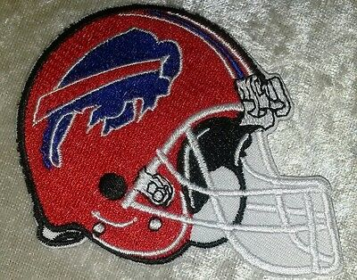 "Buffalo Bills NFL 3.5"" Helmet Iron On Embroidered Patch ~USA Seller~FREE Ship!"