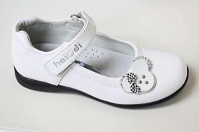 Niñas Niños Zapatos De Fiesta Talla Uk 12-3 / EUR 31-36 Negro Blanco Rosa