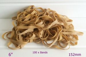 100-x-Large-6-034-x-1-2-034-Strong-Rubber-Elastic-Bands-No-89-152-4mm-x-12-7mm