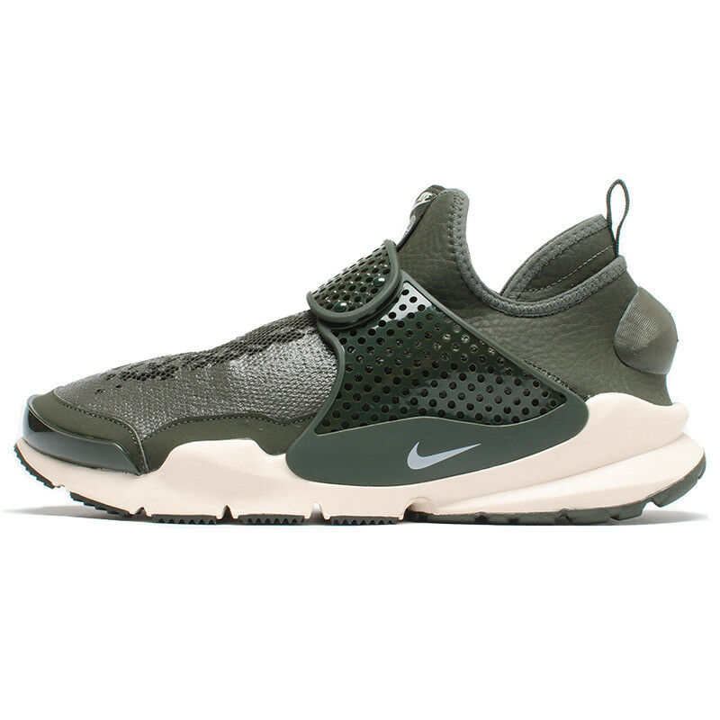 Nike MEN'S Sock Dart Mid SI STONE ISLAND Sequoia SIZE 10 BRAND NEW
