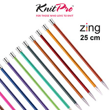 Pony Knitting Needles Length 25cm 35cm Mixed Size 2.25mm to 7.5mm Single Ended