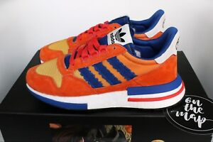 wholesale dealer f4db3 fde32 Image is loading Adidas-ZX-500-RM-Dragonball-Z-DBZ-Son-