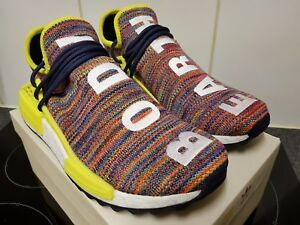 8b6425f0a82fc Adidas Pharrell Williams Human Race HU NMD Trail Multi Ink Yellow UK ...