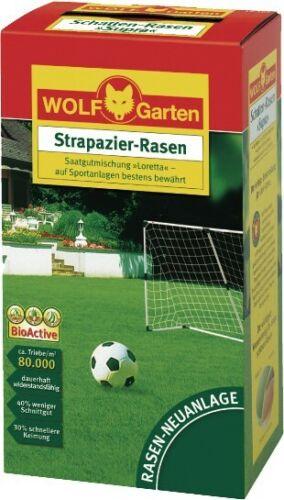 """Wolf Strapazier-Rasen ,Loretta/"""" Grassamen Rasen Gras Samen Rasensamen 50 m² qm"""